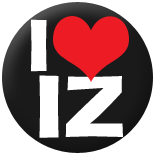 I Heart Iz Badge