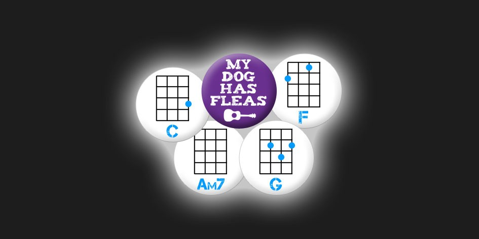 Ukulele Chord Badges