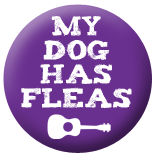 My Dog Has Fleas Badge