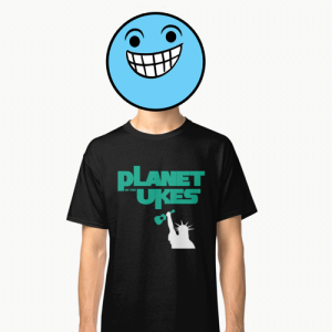Planet Of The Ukes T-Shirt